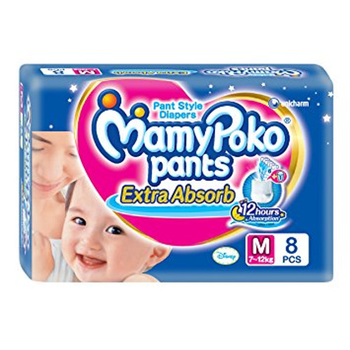 Mamy Poko Pants Extra Absorb Diapers - Medium