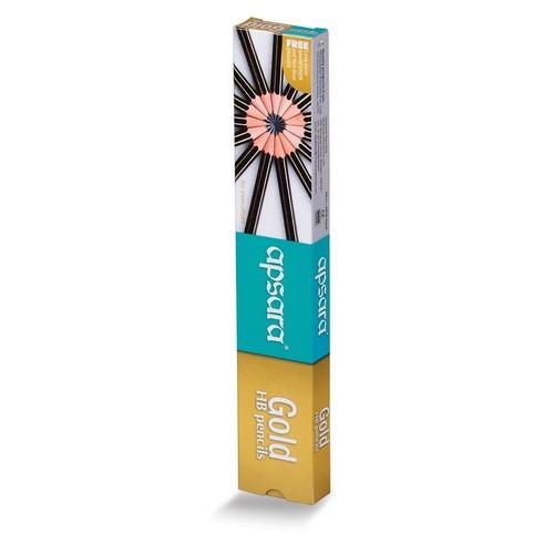 Apsara Gold Pencils - pack of 10