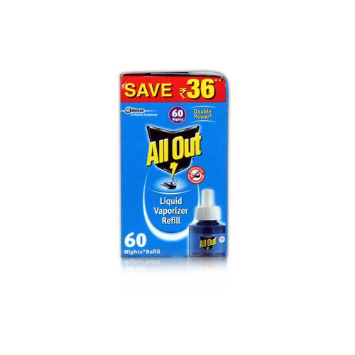 All Out Liquid Vaporizer - 60 Night Refill