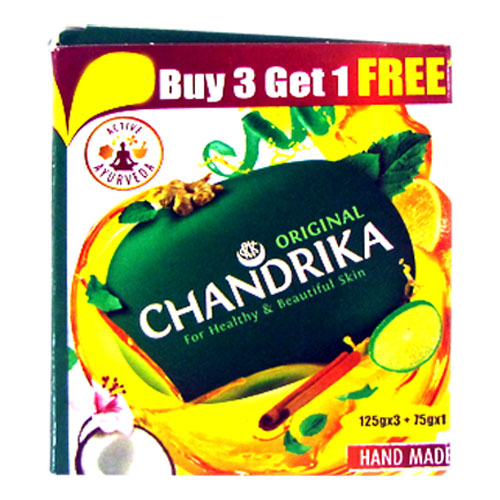 Chandrika Bathing Soap - Original (Buy3 Get 1 Free)