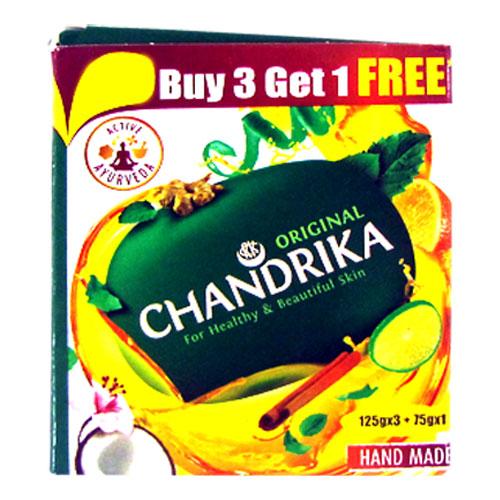 Chandrika Bathing Soap - Original (Buy3 Get 1 Free)