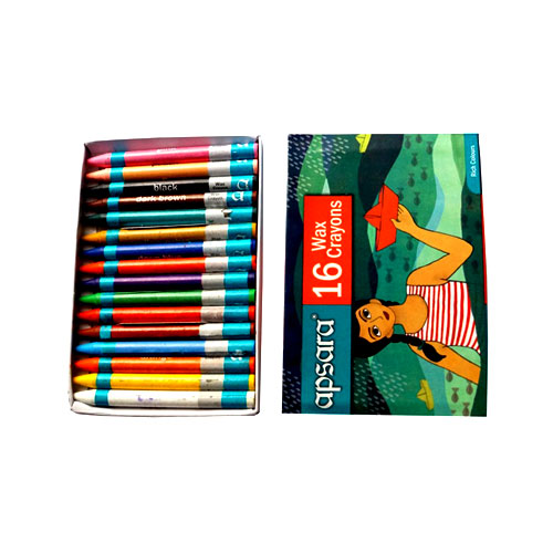 Apsara Wax Crayons - 16 shades
