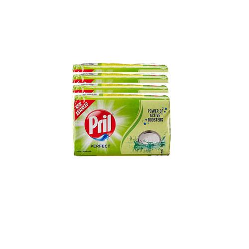 Pril Perfect Dish Wash Bar (Buy 3 Get 1 Free)