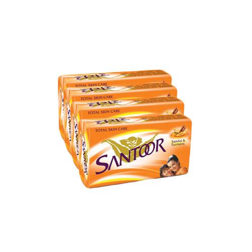Santoor Bathing Bar - Super Saver Pack