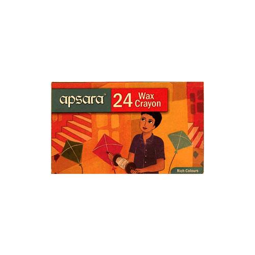 Apsara Wax Crayons - 24 shades