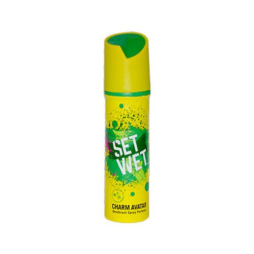 Set Wet Charm Avatar Deodorant Spray