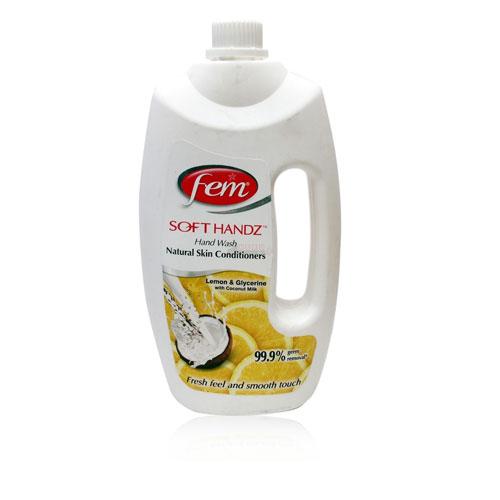 Fem Soft Handz with Natural Skin Conditioners