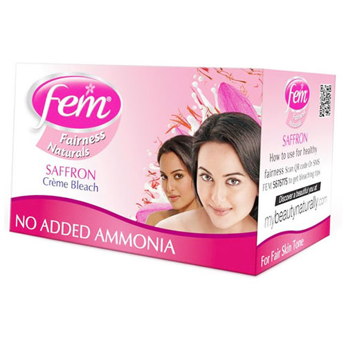 Fem Fairness Creme Bleach With Saffron