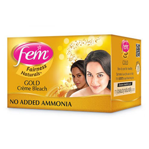 Fem Fairness Naturals Gold Creme Bleach