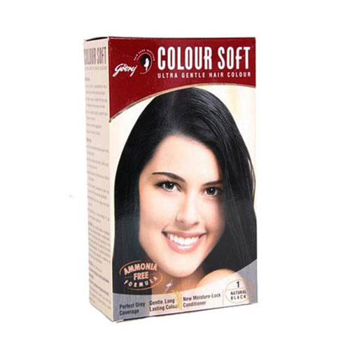 Godrej Coloursoft Hair Colour - Natural Black