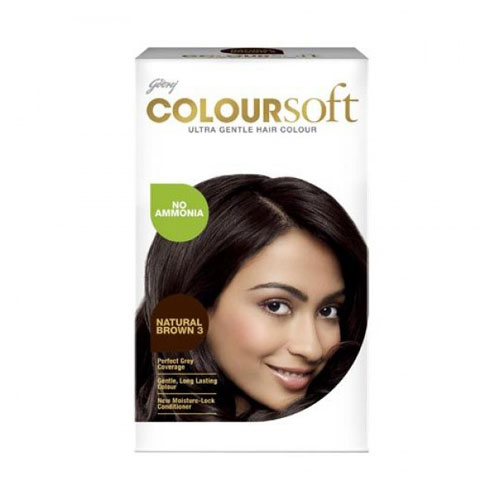 Godrej Coloursoft Hair Colour - Natural Brown
