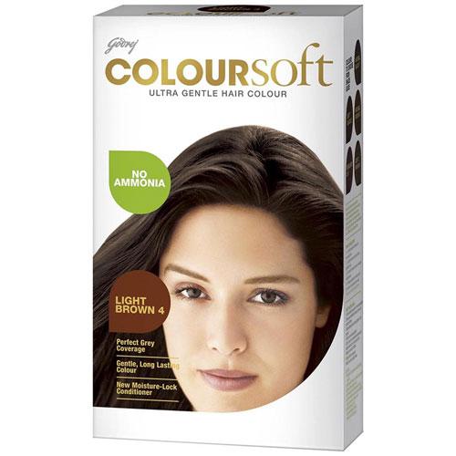 Godrej Coloursoft Hair Colour - Light Brown