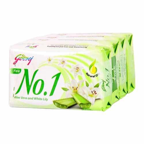 Godrej No.1 Aloe Vera and White Lily Soap