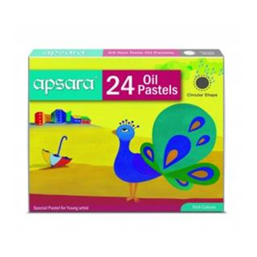 Apsara Oil Pastels - 24 shades