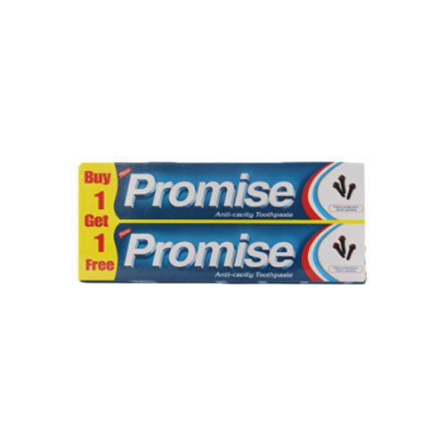 Dabur Promise Anti-Cavity Toothpaste (Buy 1 Get 1 Free)