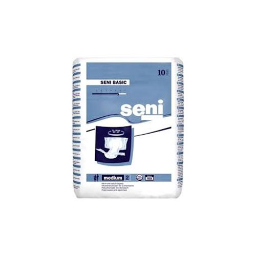 Seni Basic Adult Diapers - Medium