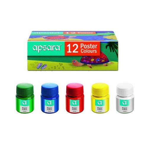 Apsara Poster Colour - 12 colours