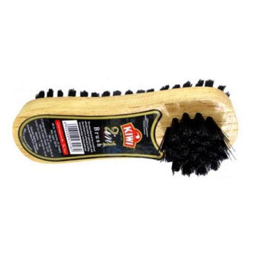 Kiwi 2 in 1 Shoe Brush