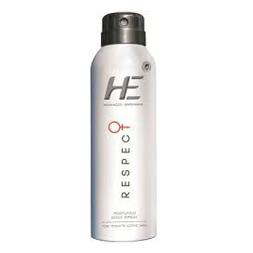He Advanced Grooming Respect Perfumed Body Spray