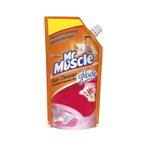 Mr Muscle Floor Cleaner With Glade -Floral Perfection-Refill
