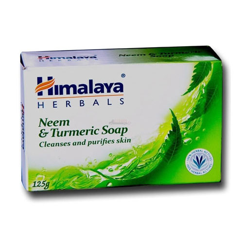 Himalaya Neem and Turmeric Soap - 125g (Buy 3 Get 1 Free)