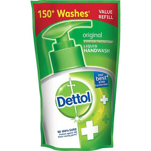 Dettol Liquid Hand Wash Original 185 ml- Refill
