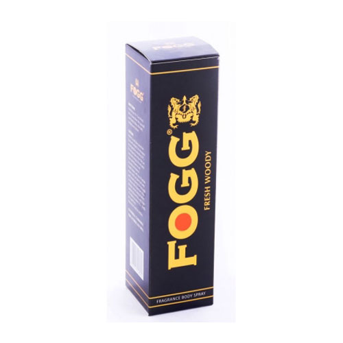 Fogg Fresh Deodorant Woody Black Series - For Men