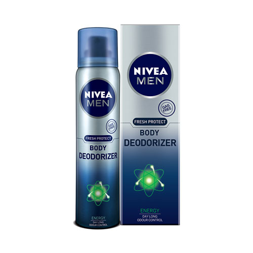 Nivea Men Fresh Protect Body Deodorizer - Ice Cool