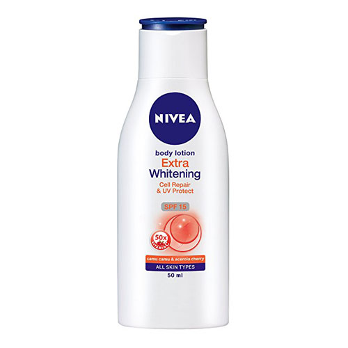 Nivea Extra Whitening Cell Repair SPF 15 - Body Lotion
