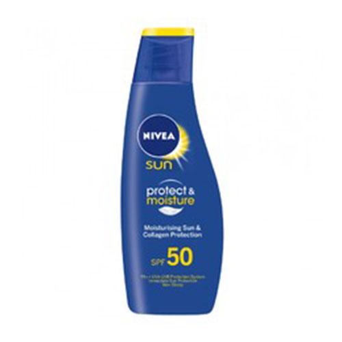 Nivea Sun Protect & Moisture SPF 50 - Moisturizing Lotion
