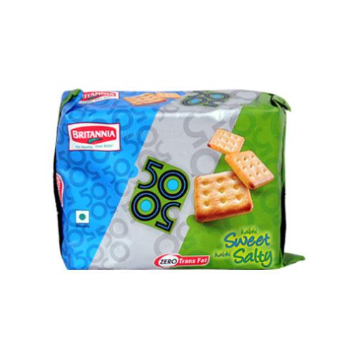 Britannia 50-50 Biscuits