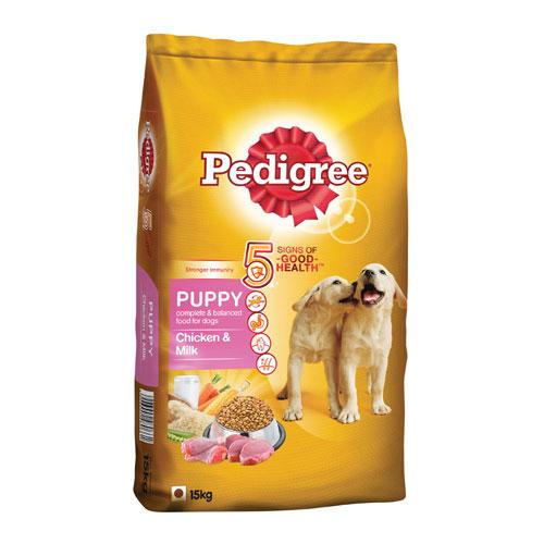 Pedigree Puppy Dog Food Chicken & Milk