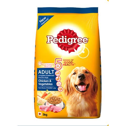 Pedigree Adult Dog Food Chicken & Vegetables