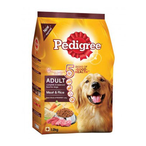 Pedigree Adult Dog Food Meat & Rice
