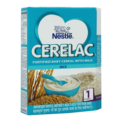 Nestle CERELAC Infant Cereal Stage-1 (6 Months+) - Rice