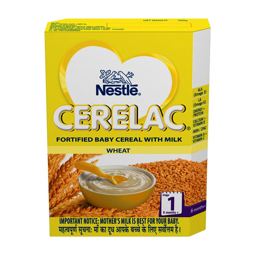 Nestle CERELAC Infant Cereal Stage-1 (6 Months+) Wheat