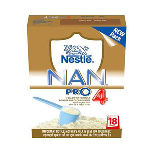 Nestle NAN Pro 4 - Follow Up Formula (After 18 Months)