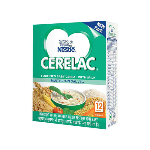 Nestle CERELAC Cereal Stage-4 (12 Months+) Multigrain+Dal