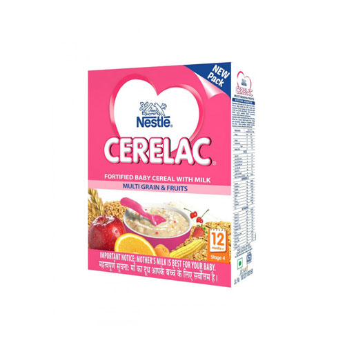 Nestle CERELAC Cereal Stage-4 (12 Months+) Multigrain+Fruit
