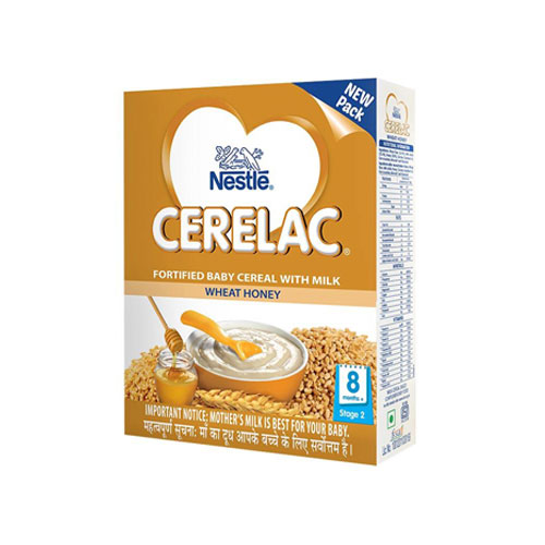 Nestle CERELAC Cereal Stage-2 (8 Months+) Wheat Honey