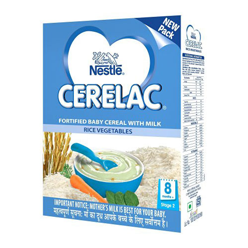 Nestle CERELAC Cereal Stage-2 (8 Months+) Rice Veg