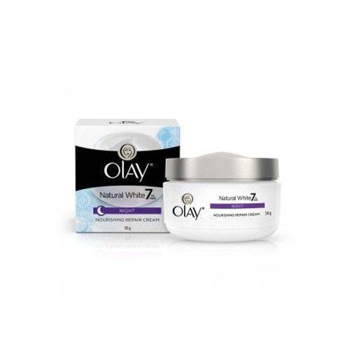 Olay Natural White Night Nourishing Repair Cream