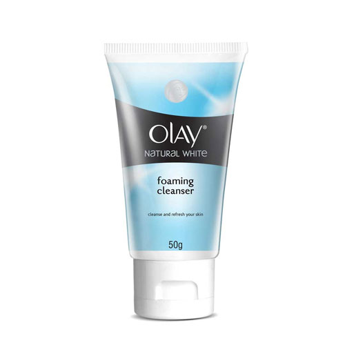Olay Natural White Foaming Cleanser
