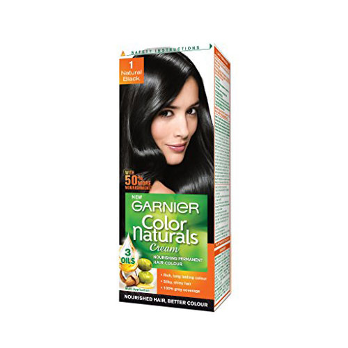 Garnier Color Naturals Cream - Hair Color (Natural Black 1)