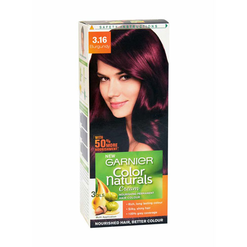 Garnier Color Naturals Cream - Hair Color (Burgundy 3.16)