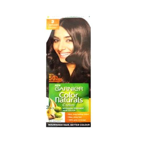 Garnier Color Naturals Cream - Hair Color (3 Darkest Brown)