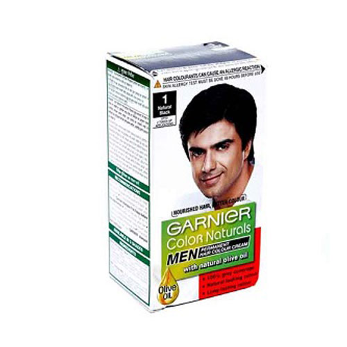 Garnier Color Naturals Men - Hair Color - (Natural Black -1)