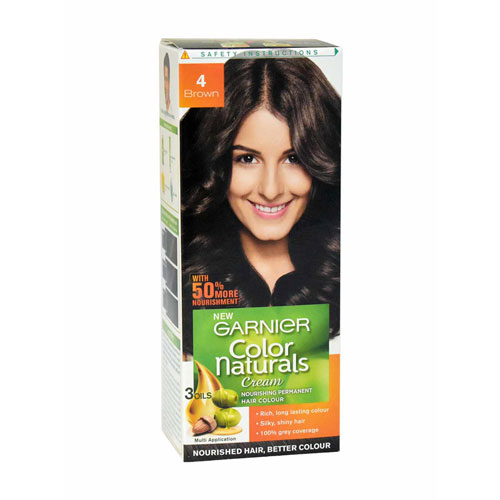 Garnier Color Naturals - Hair Color - (Brown 4)