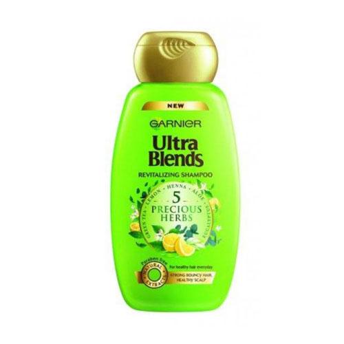 Garnier Ultra Blends 5 Precious Herbs Shampoo