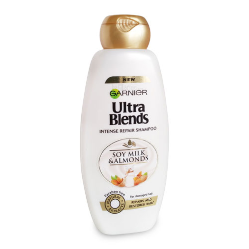 Garnier Ultra Blends Soy Milk & Almonds Shampoo